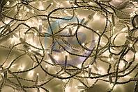 """Гирлянда модульная """"Дюраплей LED"""" 20м 200 LED белый ПВХ, ТЕПЛЫЙ БЕЛЫЙ 24В"""