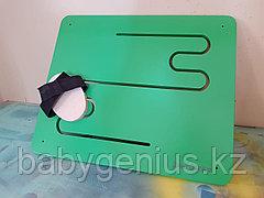 Лабиринт для опорно-двигательного аппарата, стеновая сенсорная панель, Лабиринт для ног и рук