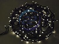 """Гирлянда """"Твинкл Лайт"""" 20 м, черный КАУЧУК, 240 диодов, цвет белый, фото 1"""