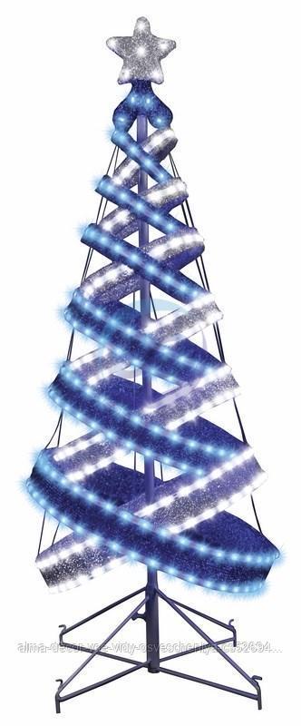 """Елка в стиле """"Хайтек"""", размер 120см (434 светодиода СИНИЙ+БЕЛЫЙ), с постоянным свечением"""