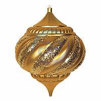 """Елочная фигура """"Лампа"""", 30 см, цвет золотой"""