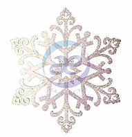 """Елочная фигура """"Снежинка """"Снегурочка"""", 81 см, цвет белый"""