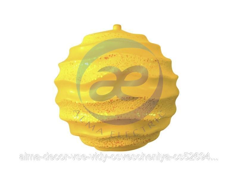 """Елочная фигура """"Шар с юбочкой"""", 30 см, цвет золотой"""