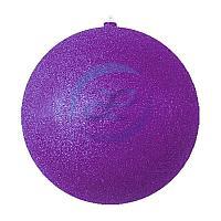 """Елочная фигура """"Шарик"""", 20 см, цвет фиолетовый"""
