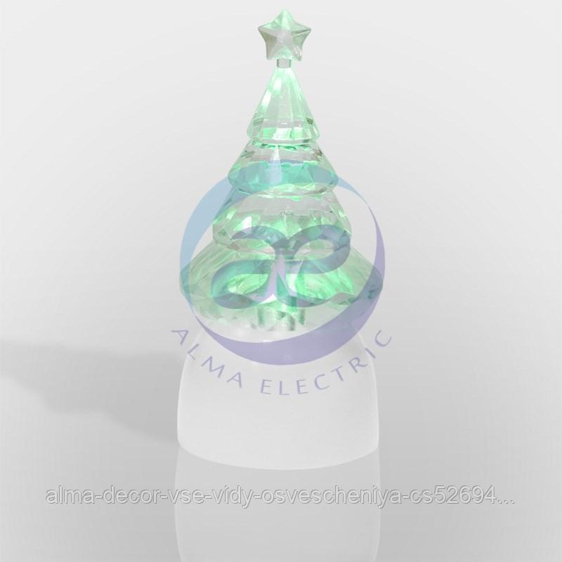 """Фигура светодиодная на подставке """"Ёлочка Кристалл"""", RGB"""