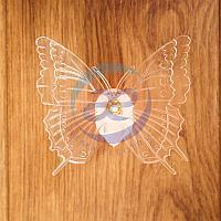 """""""Бабочка"""" RGB на присоске, фото 1"""