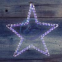 "Фигура световая ""Звезда"" цвет белый/синий, размер 56 х 60 см NEON-NIGHT"