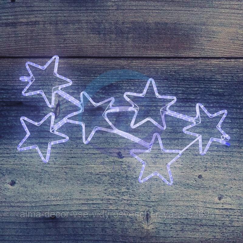 """Фигура световая """"Созвездие"""" размер 55*100см, свечение синее NEON-NIGHT"""