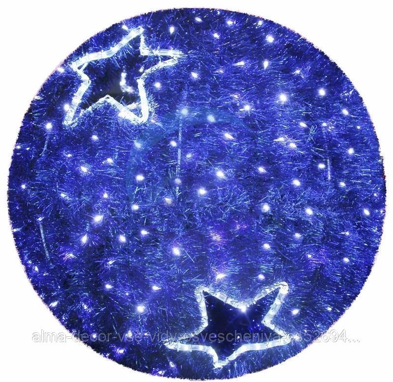 "Фигура ""Шар"", LED подсветка диам. 40см, синий NEON-NIGHT"