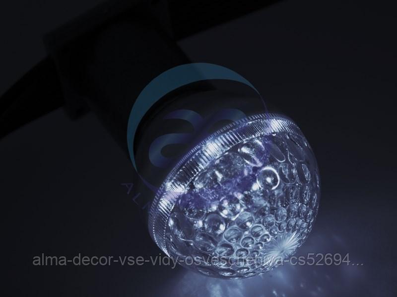 Лампа строб e27 Ø50мм Белая