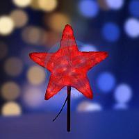 """Акриловая светодиодная фигура """"Звезда"""" 30см, 45 светодиодов, красная, NEON-NIGHT"""