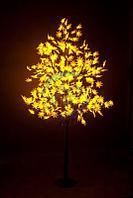 """Светодиодное дерево """"Клён"""", высота 2,1м, диаметр кроны 1,8м, желтые светодиоды, IP 65, понижающий трансформатор в комплекте, NEON-NIGHT"""