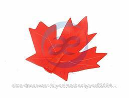 """Колпачок """"кленовый лист"""" (для гирлянд Original/Professioanl) красный"""