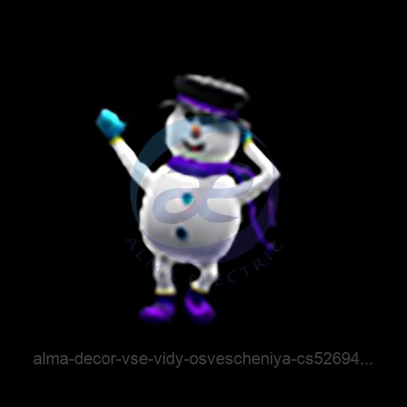 Снеговик-1 150 см (цвет на выбор)