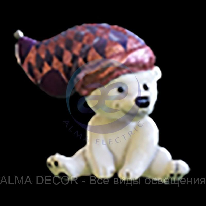 Медведь «Полярный-2» (цвет на выбор)