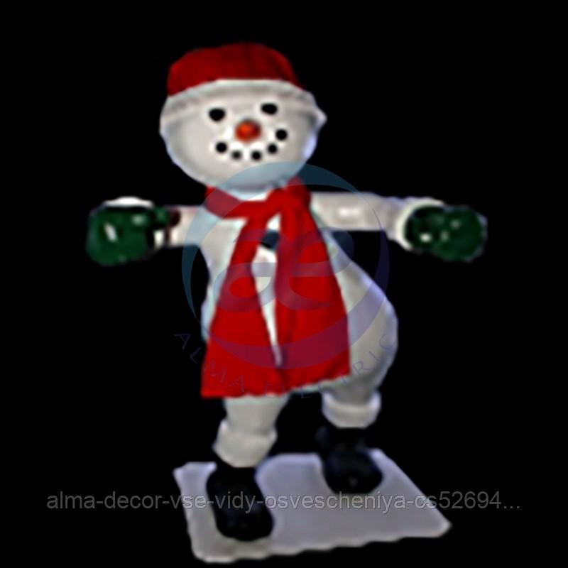 Снеговик «Dancer-4» (цвет на выбор)