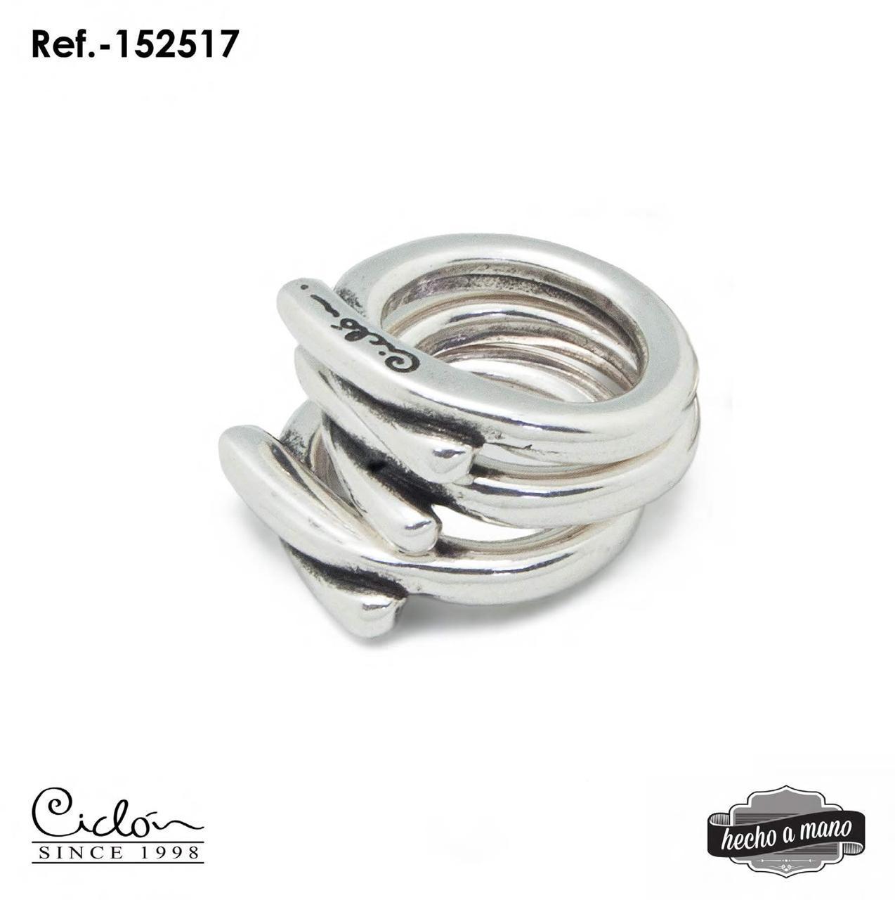 Кольцо Ciclon бестселлер из 3 колец