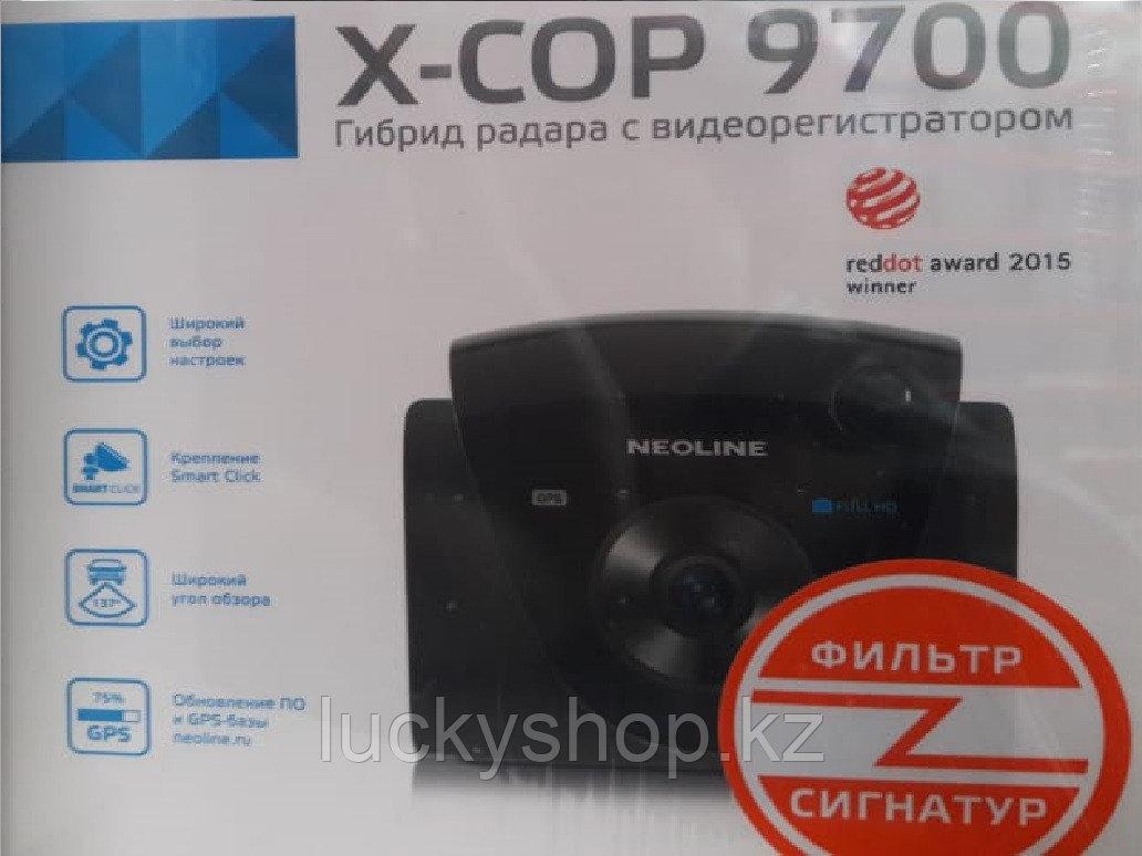 Гибрид радар-детектора и видеорегистратора Neoline X-COP 9700