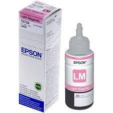 Чернила Epson C13T67364A L800/1800/810/850 светло-пурпурный