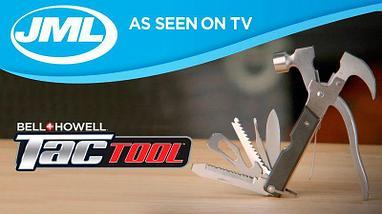 Молоток-мультитул Tactool Bell +Howell 18в 1, фото 3