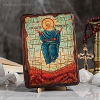 """Икона под старину """"Спорительница хлебов"""", 13х17 см"""