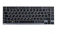 Клавиатура для ноутбука Toshiba Satellite U900/ RU, черная, фото 1