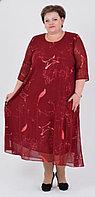 Нарядные платья батталы больших 60-70размеров