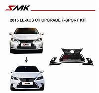Решетка F-sport на Lexus CT 2015-