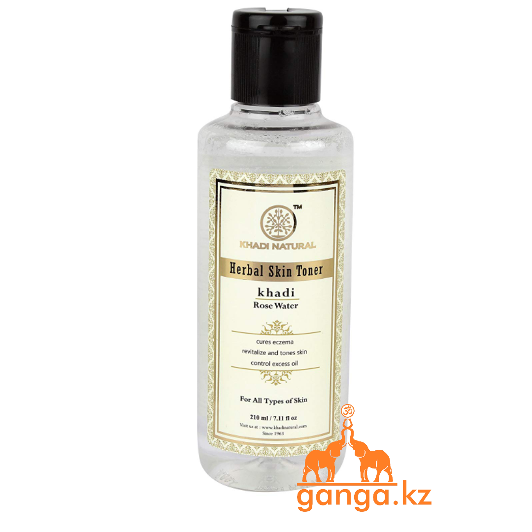 Розовая вода для лица Кхади (Pure Rose Water KHADI), 210 мл