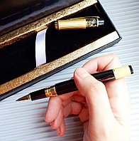 Ручка подарочная в футляре из экокожи