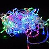 """Гирлянда новогодняя светодиодная """"Нить"""" - 10 метров, 80 лампочек, разноцветная, мерцающая"""