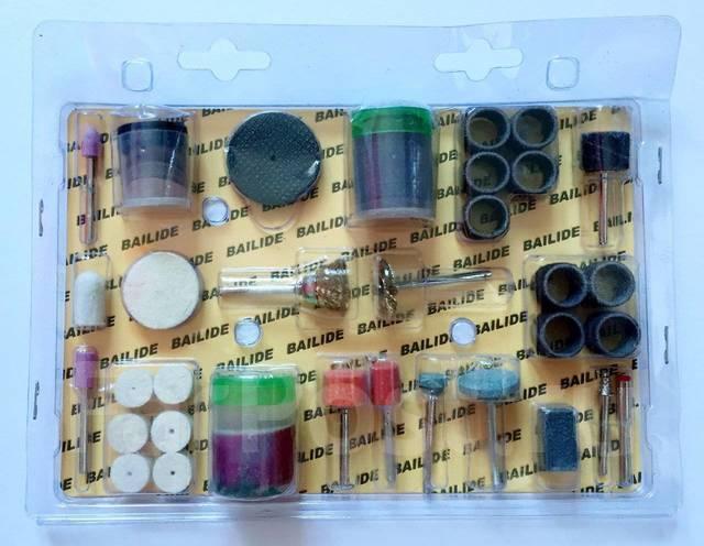 Набор шлифовальных насадок для Гравера - 105 предметов