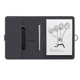 Графический планшет (Автономное перо + блокнот) Wacom Bamboo Spark (CDS-600С) Серый