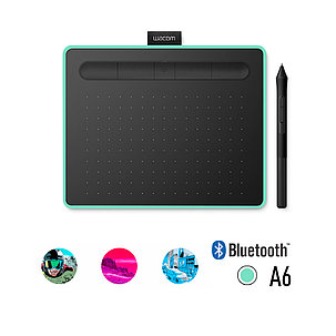 Графический планшет Wacom Intuos Small Bluetooth (CTL-4100WLE-N) Зелёный, фото 2