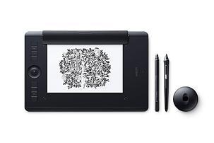 Графический планшет Wacom Intuos Pro Medium Paper Edition R/N (PTH-660P) Чёрный, фото 2
