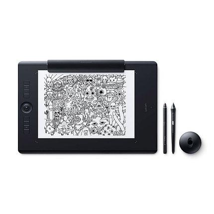Графический планшет Wacom Intuos Pro Paper Large R/N (PTH-860P) Чёрный, фото 2