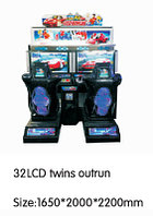 Игровой автомат - 32 LCD outrun twin