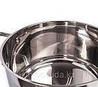 Мантоварка Vicalina со стеклянной крышкой (11 литров) 30 см, фото 3