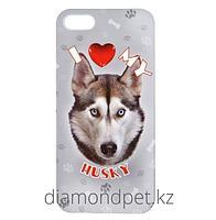 Чехол I Love My Dog для iPhone 5/5s с изображением собаки ILeesh арт.IP5