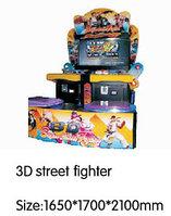 Игровой автомат - 3D street fighter