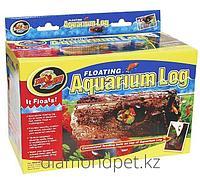 Декорация Floating Aquarium Log для аквариума 23см (для всех видов аквариумных рыб, морских черепах) Zoo Med