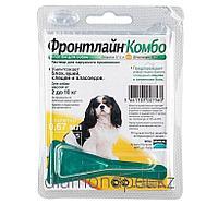 Капли Фронтлайн Комбо от блох и клещей для собак весом от 2 до 10кг 0.67мл арт.FR05