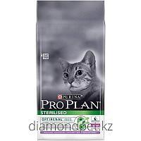 PRO PLAN для стерилизованных кошек с индейкой 10кг Purina арт.12171891