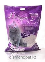 Силикагелевый впитывающий наполнитель 22л Lucky Cat арт.61985