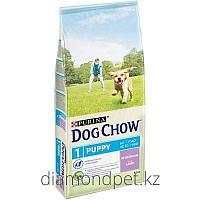 Dog chow Для щенков с ягненком 14кг Purina арт.12260304