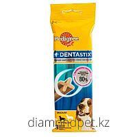 Педигри Denta Stix лакомство для средних пород собак 77гр арт.79022002