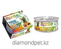 Консервы для кошек тунец с фруктами Monge Cat Fruits 80гр арт.3314