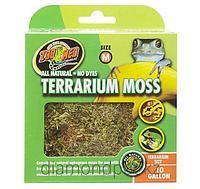 Натуральный мох Terrarium Moss для террариума 40л Zoo Med арт.CF2-M