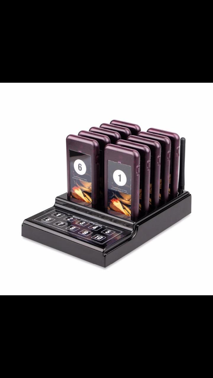 TIVDIO T-111 сигнальное устройство для ресторана вызова официанта