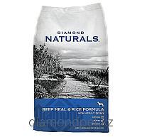 Сухой корм для взрослых собак Говядина с рисом 18.14кг Diamond Naturals арт.DN03